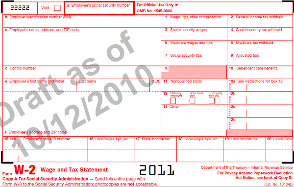 Understanding Your W2 Employer-Employee Reporting Form For ...