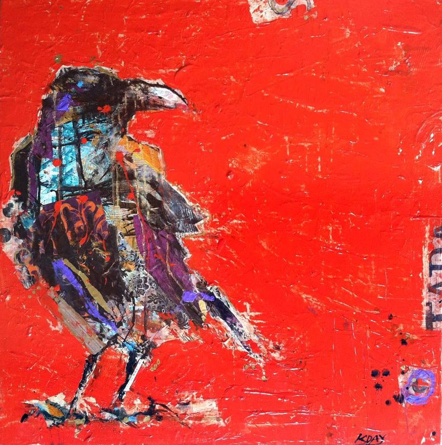 Tadasana Crow