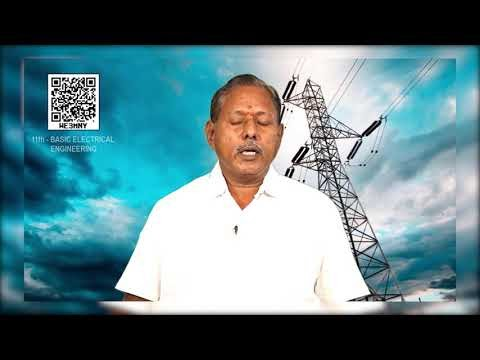11th Basic Electrical Engineering மின் மாற்றி  அத்தியாயம் 6 பகுதி1 Kalvi TV
