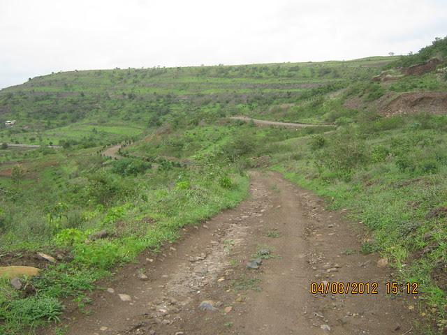 Cut, Demolished & Destroyed Hill of XRBIA Hinjewadi Pune - Nere Dattawadi, on Marunji Road, approx 7 kms from KPIT Cummins at Hinjewadi IT Park - 134