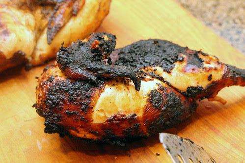 Grilled ginger garlic chicken