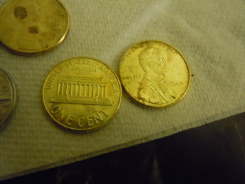 Make Gold and Silver pennies - Amateur Chemistry