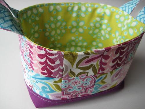 Fabric basket by Poppyprint