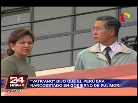 """El Perú era un 'narcoestado' en el gobierno de Fujimori, según """"Vaticano"""""""