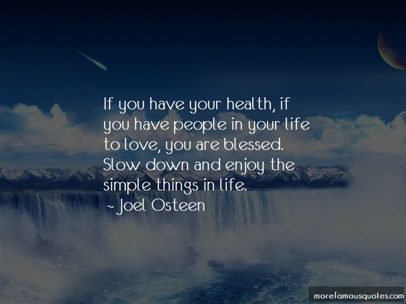 Quotes About Enjoy The Simple Things In Life Top 11 Enjoy The
