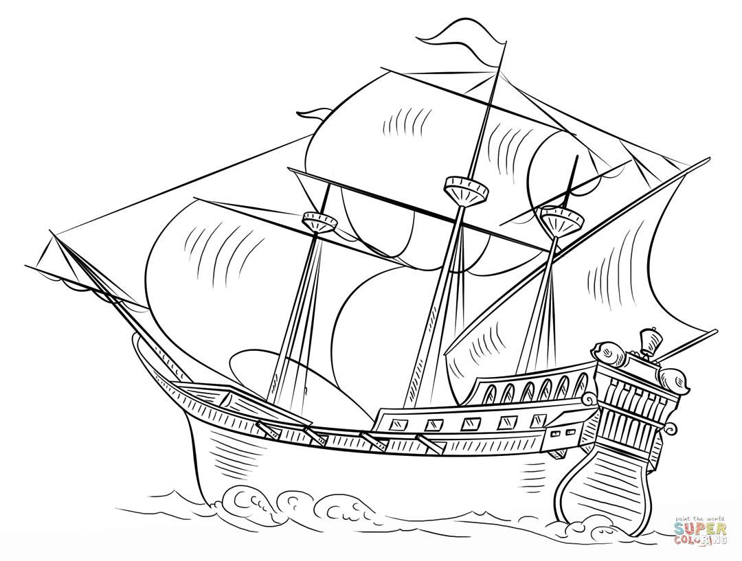 Spanische Galleone
