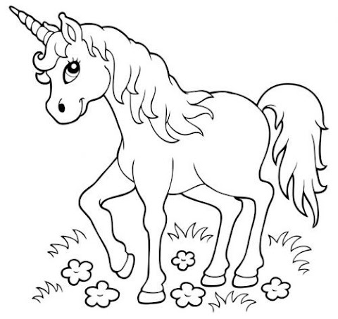 Malvorlagen Gratis Einhorn Happy Birthday