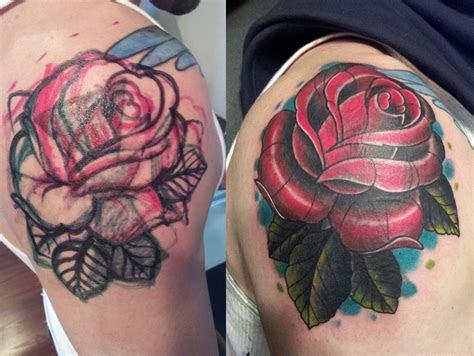 cover rose tattoo mcnabbs tattoo fine art artist
