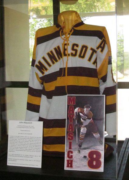 John Mayasich University of Minnesota jersey