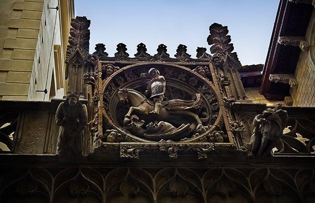 Canon's House, Barri Gotic, Barcelona [enlarge]