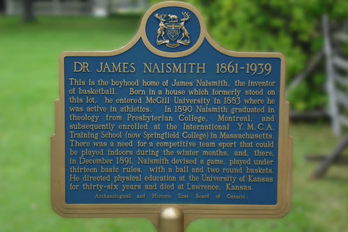 The James Naismith House