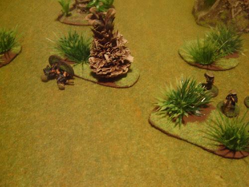Long-range firefight