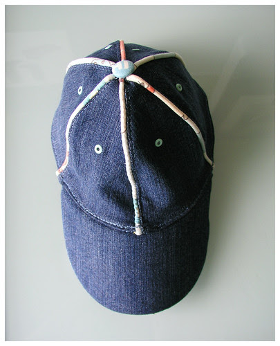 baseball hat top
