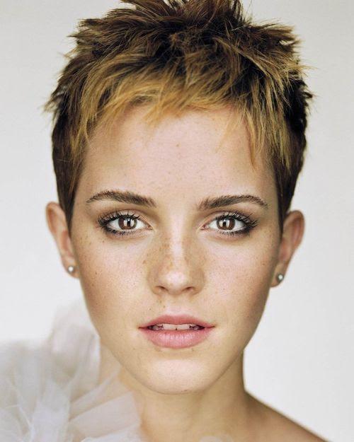 Pixie Cut Trotz Naturlocken Haare Aussehen Frisur