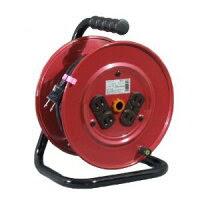 【日動】標準型電工ドラム(屋内型)単相100V15mDY-15【延長コードコードリール】