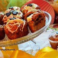Muffiny bananowe z czekoladą i wanilią