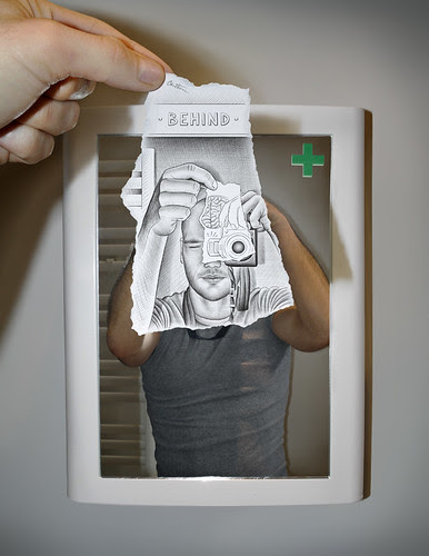 5452604921 0e22073087 in Incredibly Creative Pencil Drawings vs Photography