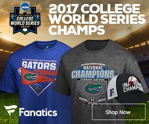 Florida Gators 2017 College World Series Champs Gear