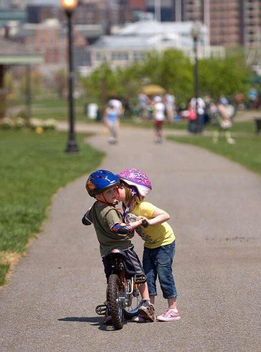 Bikes make you a chick magnet!!!