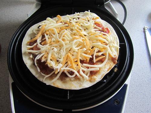 Waffled Quesadilla