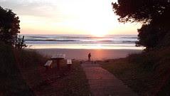 Wainui Beach Sunrise