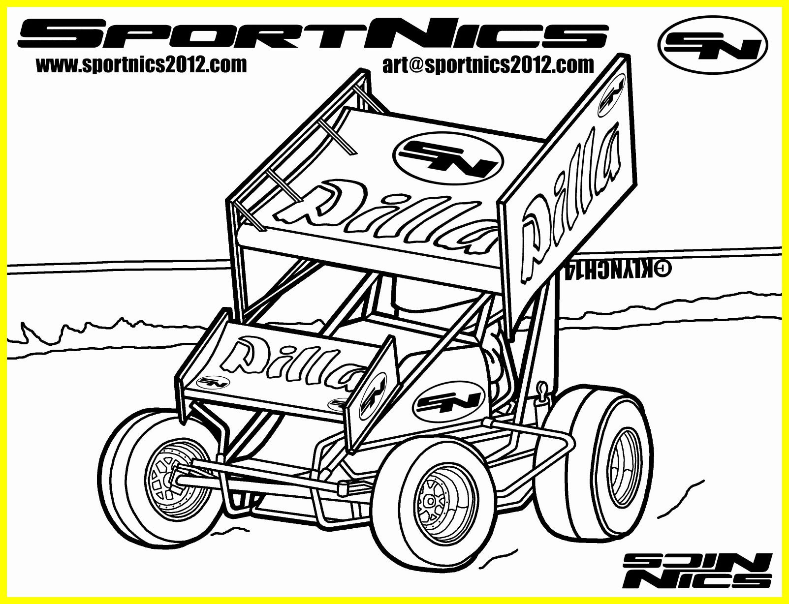 Download Dirt Late Model Coloring Pages at GetColorings.com   Free printable colorings pages to print and ...