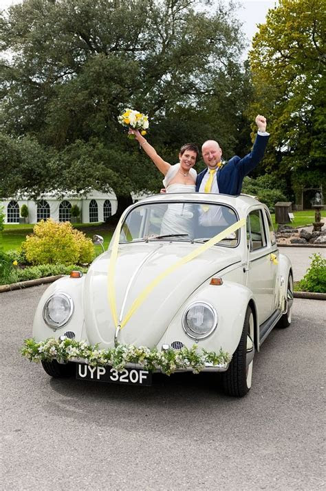 VW Volkswagen wedding Beetle car hire   vintage wedding