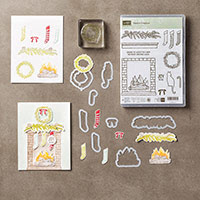 Festive Fireplace Photopolymer Bundle by Stampin' Up!