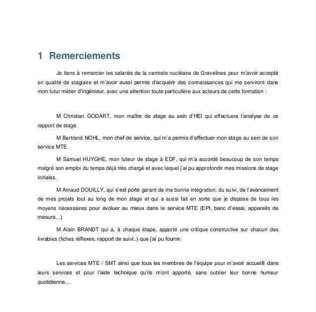 Exemple De Rapport De Stage 3eme Dans Une Ecole Maternelle ...