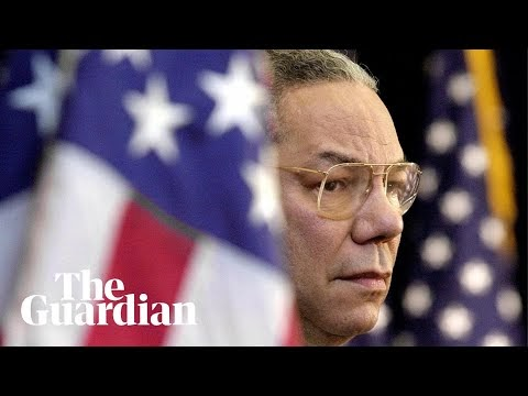 Colin Powell, former US secretary of state, dies aged 84