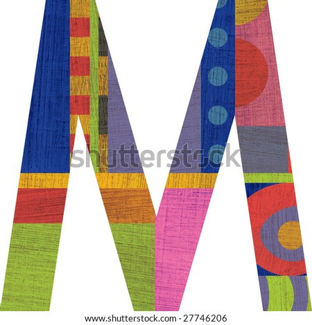 the letter m graffiti. dresses and the letter M,