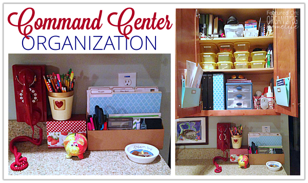 Dana's Organized Command Center