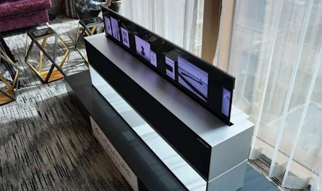 Уникальный гибкий телевизор LG OLED R получил ценник в $100 000
