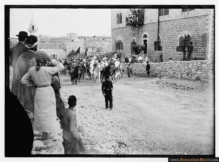 L'empereur Guillaume II à Jérusalem en 1898
