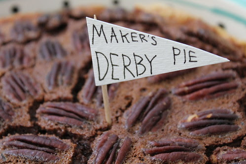 Maker's Derby Pie