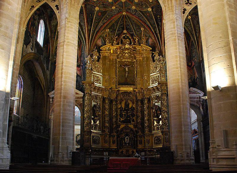 Archivo:Retablo de la Concatedral de Santa María de la Redonda.jpg