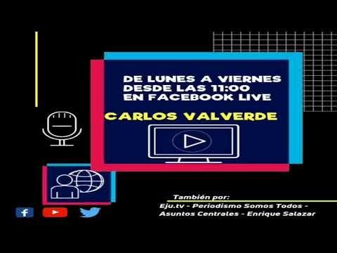 Carlos Valverde en la red: Programa del día viernes 22-11-2019