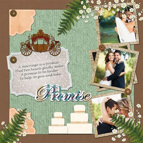 Wedding Scrapbook Templates   Wedding Scrapbook Designs