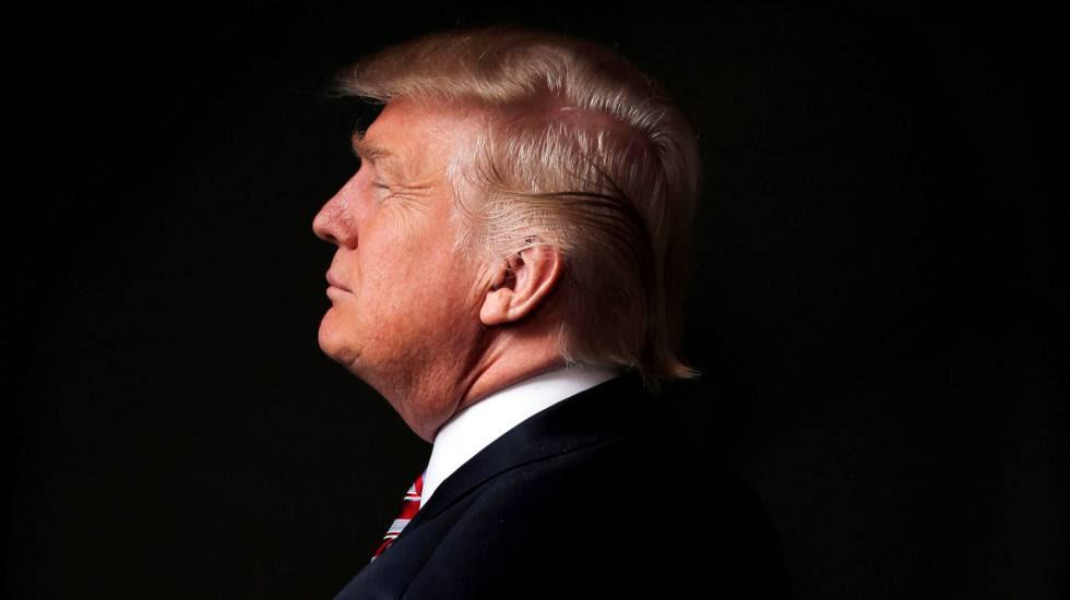El aspirante republicano Donald Trump.