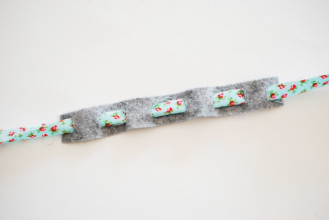 Felt & Fabric Tie-On Bracelet