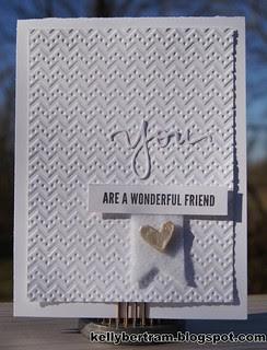 You are a Wonderful Friend
