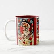 Vintage Lady Valentine's Mug