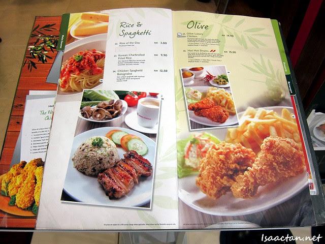 BBQ Chicken Wangsa Walk Mall 2 Menu
