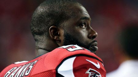 Banks was a high school All-American linebacker whose career was interrupted by a false rape conviction. The Atlanta Falcons  gave Banks a tryout in 2013.