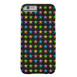 Multicolored Stars Barely There iPhone 6 Case