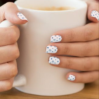 Apraxia Star Nails Nails Sticker