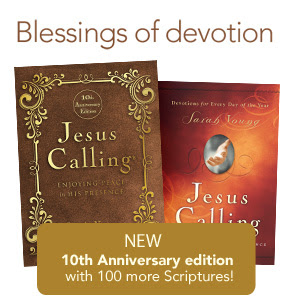 Jesus Calling Devotional: 10th Anniversary Edition