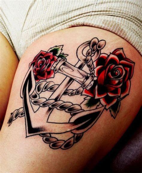 post upper thigh tattoos girls beware good