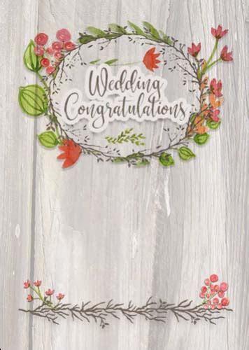 Rustic Wedding Congratulations Wreath. Free