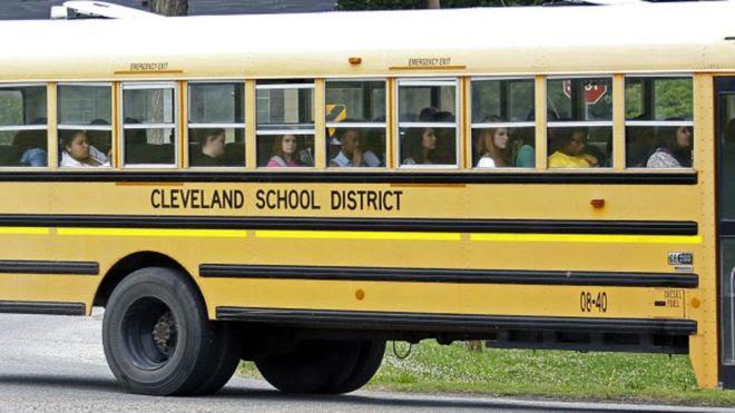 Ônibus escolar de Cleveland